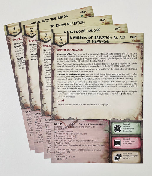 Perdition's Mouth: Scenario Pack