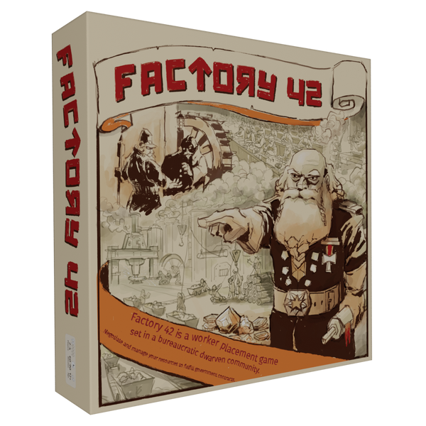 Factory 42 with Commissions Expansion (PRE-ORDER)