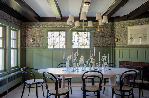 customized clear architectural prairie in dining room
