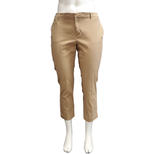 Pants by Old Navy Size 18 - BRAND: OLD NAVY. STYLE: TAPERED LEG CAPRIS. COLOR: BROWN. SIZE: 18 (2X). SKU: 40321016372.