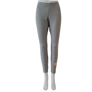 Athletic Bottoms by Nike Size L - BRAND: NIKE . STYLE: TIGHT FIT LEGGINGS. COLOR: GRAY . SIZE: LARGE. SKU: 40321023576.