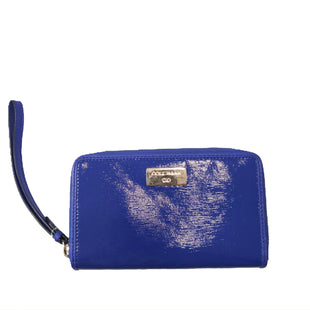 Wallet by Cole-Haan Size Small - BRAND: COLE-HAAN. STYLE: ACCORDIAN WITH WRIST STRAP . COLOR: ROYAL BLUE. SIZE: SMALL. SKU: 40321018621.