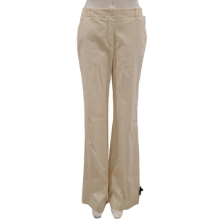 Pants by New York & Company Size 2T - BRAND: NEW YORK & COMPANY . STYLE: STRETCH BOOTCUT. COLOR: CREAM AND BLACK. SIZE: 2 TALL (X-SMALL). SKU: 40321013071.