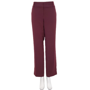 Pants by Ann Taylor Loft Size 12 - BRAND: ANN TAYLOR LOFT. STYLE: MARISA FIT, STRAIGHT LEG. COLOR: MAROON. SIZE: 12. SKU: 40321020126.
