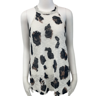 Sleeveless Top by Bibi size S - BRAND: BIBI. SIZE: SMALL . STYLE: LOOSE NIT, HIGH NECK SHIRT . COLOR: WHITE, NAVY. SKU: 40321007302.