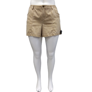 Shorts by Natural Reflections Size 18 - BRAND: NATURAL REFLECTIONS . COLOR: KHAKI. SIZE: 18 (XX-LARGE). SKU: 40321010345.