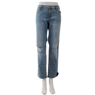 Jeans by JustBlack Size 8 - BRAND: JUSTBLACK. STYLE: FITTED BOYFRIEND. COLOR: LIGHT DENIM. SIZE: 8 (29 WAIST). SKU: 40321029318.