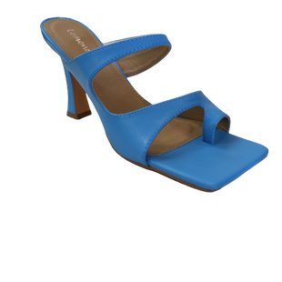 Heels by Lemonade size 7.5 - BRAND: LEMONADE. SIZE: 7.5. STYLE: SQUARE TOE, . COLOR: SKY BLUE. SKU: 40321029130.