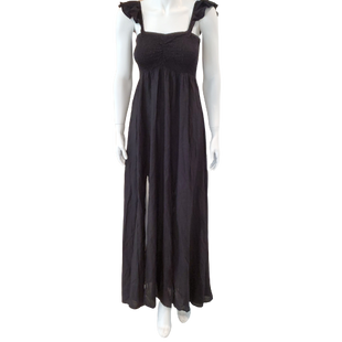Dress Long Sleeveless by Raviya Size S - BRAND: RAVIYA . STYLE: SLEEVELESS WITH FITTED BUST. COLOR: BLACK. SIZE: SMALL. SKU: 40321028397.