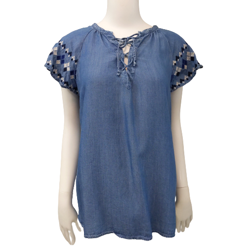 Short Sleeve Top by Old Navy size S