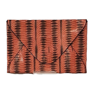 Clutch by BCBGMaxazria Medium - BRAND: BCBGMAXAZRIA. STYLE: ENVELOPE. COLOR: BLACK, CORAL. SIZE: MEDIUM. SKU: 40321013926.