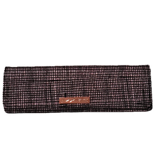 Clutch by MAC Size S - BRAND: MAC. STYLE: MAGNETIC CLOSE CLUTCH. COLOR: PINK AND BLACK. SIZE: SMALL. SKU: 40321014967.