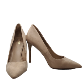 Heels by Mix No. 6 size 9 - BRAND: MIX NO. 6. SIZE: 9. STYLE: SUEDE POINTED HEELS . COLOR: NUDE. SKU: 40321018964.