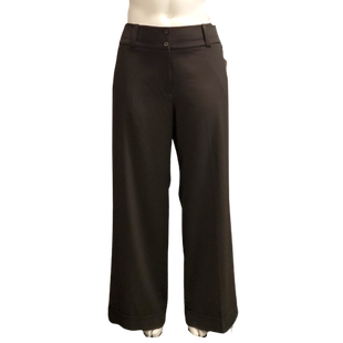 Pants by Lane Bryant Size 18R - BRAND: LANE BRYANT. STYLE: THE LENA FIT, WIDE LEG. COLOR: BLACK. SIZE: 18R. SKU: 40321020090.