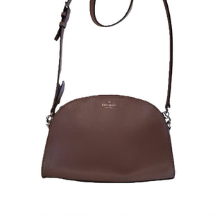Designer Crossbody bag by Kate Spade size S - BRAND: KATE SPADE. STYLE: BODY STRAP HANDBAG WITH ZIP CLOSURE. COLOR: BRONZE. SIZE: SMALL. SKU: 40321022771.
