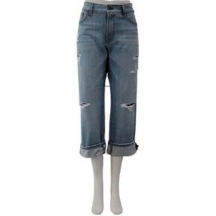 Jeans by Angry Rabbit Size 8 - BRAND: ANGRY RABBIT . STYLE: DESTROYED BOYFRIEND. COLOR: LIGHT WASH. SIZE: 8 (29 WAIST). SKU: 40321029329.
