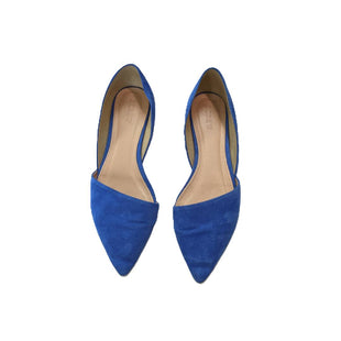 Flats by J Crew size 8 - BRAND: J CREW. SIZE: 8. STYLE: POINTED TOE FLATS . COLOR: ROYAL BLUE. SKU: 40321026599.
