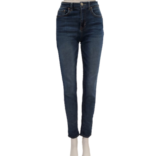 Jeans by Aeropostale Size 6 - BRAND: AEROPOSTALE . STYLE: HIGH WAISTED JEGGING. COLOR: MEDIUM WASH DENIM. SIZE: 6 REG. SKU: 40321028852.