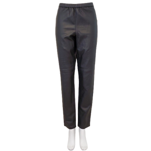 Pants by Michael Kors Size 12 - BRAND: MICHAEL KORS. STYLE: FAUX LEATHER LEGGINGS. COLOR: BLACK. SIZE: 12. SKU: 40321019638.