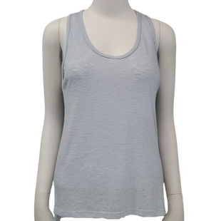 Top Sleeveless by Michelle Size S - BRAND: MICHELLE . STYLE: SLEEVELESS KNIT RACERBACK. COLOR: BABY BLUE. SIZE: SMALL. SKU: 40321022539.