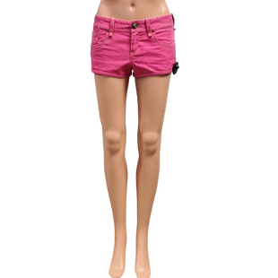 Shorts by Armani Exchange Size 0 - BRAND: ARMANI EXCHANGE. STYLE: DENIM SHORTS. COLOR: HOT PINK. SIZE: 0 (X-SMALL). SKU: 40321003957.