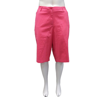 Shorts by Avenue Size 24 - BRAND: AVENUE. COLOR: PINK. SIZE: 24 (3X). SKU: 40321020272.