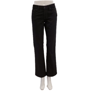 Jeans by 7 for all Mankind Size 6 - BRAND: 7 FOR ALL MANKIND. STYLE: BOOTCUT. COLOR: BLACK DENIM. SIZE: 6 (28 WAIST). SKU: 40321028856.