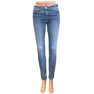 Jeans by 7 For All Mankind size 4 - BRAND: 7 FOR ALL MANKIND . SIZE: 4. STYLE: THE SKINNY JEAN. COLOR: BLUE. SKU: 40321014429.