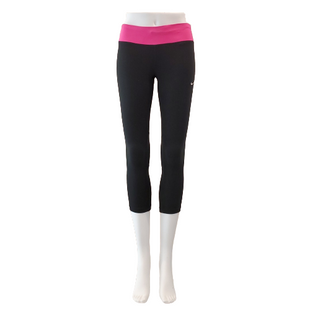 Athletic Bottoms by Nike Size XS - BRAND: NIKE . STYLE: DRI-FIT CAPRIS. COLOR: BLACK AND PINK. SIZE: X-SMALL. SKU: 40321023513.