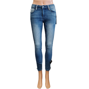 Jeans by Unpublished size 2 - BRAND: UNPUBLISHED . STYLE: KORA MID RISE SKINNY. COLOR: BLUE. SIZE: 2 (26). SKU: 40321026930.