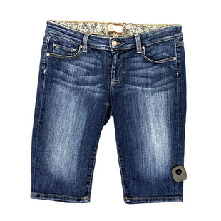 Shorts by Paige size 6 - BRAND: PAIGE. SIZE: 6. STYLE: LONG JEAN SHORTS,. COLOR: DARK WASH. SKU:40321010397.