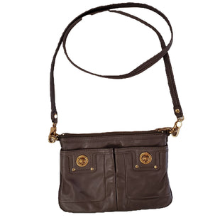 Designer Handbag by Marc by Marc Jacobs size S - BRAND: MARC BY MARC JACOBS. STYLE: BODY STRAP HANDBAG. COLOR: BROWN. SIZE: SMALL. SKU: 40321011116.