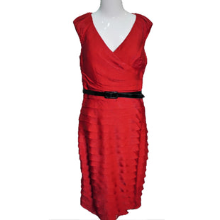 Dress Short Sleeveless by Adriana Papell Size 6 - BRAND: ADRIANNA PAPELL. SIZE: 6. STYLE: SHORT SLEEVELESS DRESS. COLOR: RED. SKU: 40321018603.