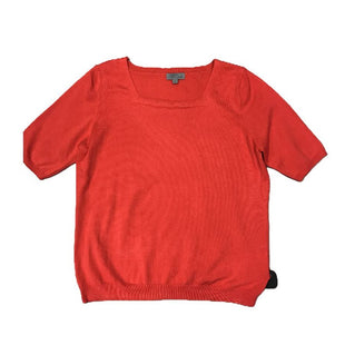 Shirt Short Sleeve by Joseph A. Size XL - BRAND: JOSEPH A.. SIZE: XL. STYLE: SHORT SLEEVE, SWEATER MATERIAL, SQUARE NECKLINE . COLOR: RED. SKU: 40321015658.