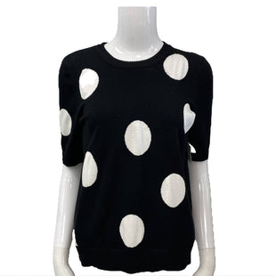 Sweater by Premise Size M - BRAND: PREMISE. STYLE: SHORT SLEEVE. COLOR: BLACK AND WHITE. SIZE: MEDIUM. SKU: 40321026113.