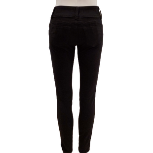 Pants by Wax Jean Size 0 - BRAND: WAX JEAN. STYLE: FAUX VELVET SKINNY. COLOR: BLACK. SIZE: 0 (X-SMALL). SKU: 40321012642.