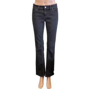 Jeans by White House Black Market size 4 - BRAND: WHITE HOUSE BLACK MARKET. SIZE: 4. STYLE: BOOT LEG JEANS. COLOR: BLACK. SKU: 40321013195.