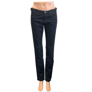 Jeans by Adriano Goldschmied Size 4 - BRAND: ADRIANO GOLDSCHMIED. STYLE: THE STILT CIGARETTE LEG. COLOR: BLACK. SIZE: 4 (27). SKU: 40321010564.