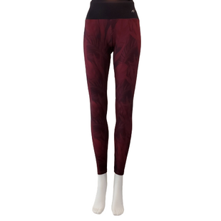 Athletic Bottoms by Leonisa Size S - BRAND: LEONISA . STYLE: LEGGING. COLOR: MAROON AND BLACK. SIZE: SMALL. SKU: 40321023295.