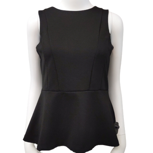 Top by H&M size S - BRAND: H&M. SIZE: SMALL. STYLE: SLEEVELESS PEPLUM TOP. COLOR: BLACK. SKU: 40321015273.