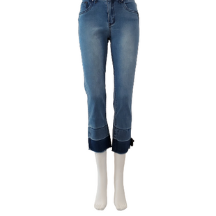 Jeans by Black Label Size 8 - BRAND: BLACK LABEL . STYLE: MID RISE ANKLE SKINNY. COLOR: DARK WASH. SIZE: 7 (29 WAIST). SKU: 40321029313.