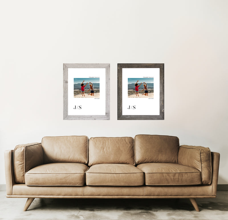 Framed Photo Art - Friendship Theme - Friends Forever
