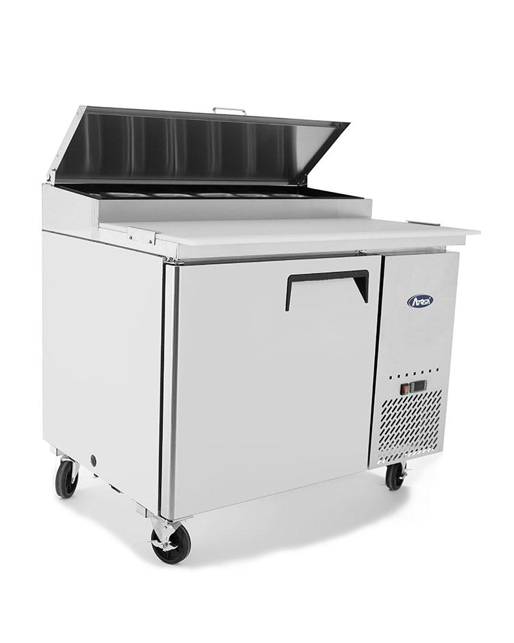 "Atosa MPF8201 44"" Commercial Pizza Prep Table - Summit Restaurant Supply"