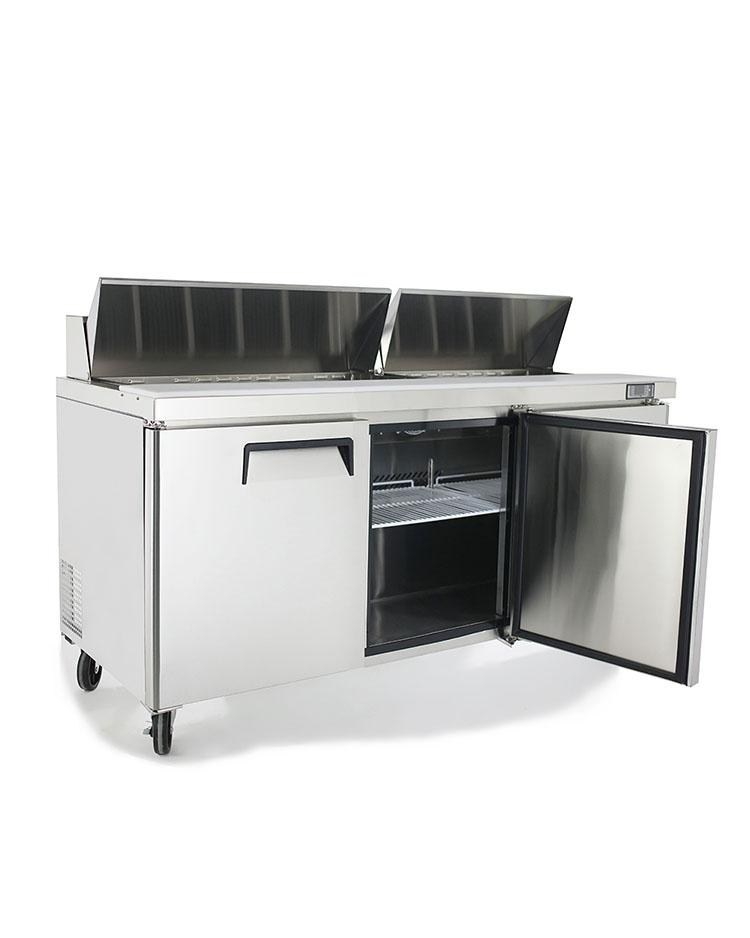 "Atosa MSF8304 72"" Commercial Sandwich Prep Table - Summit Restaurant Supply"