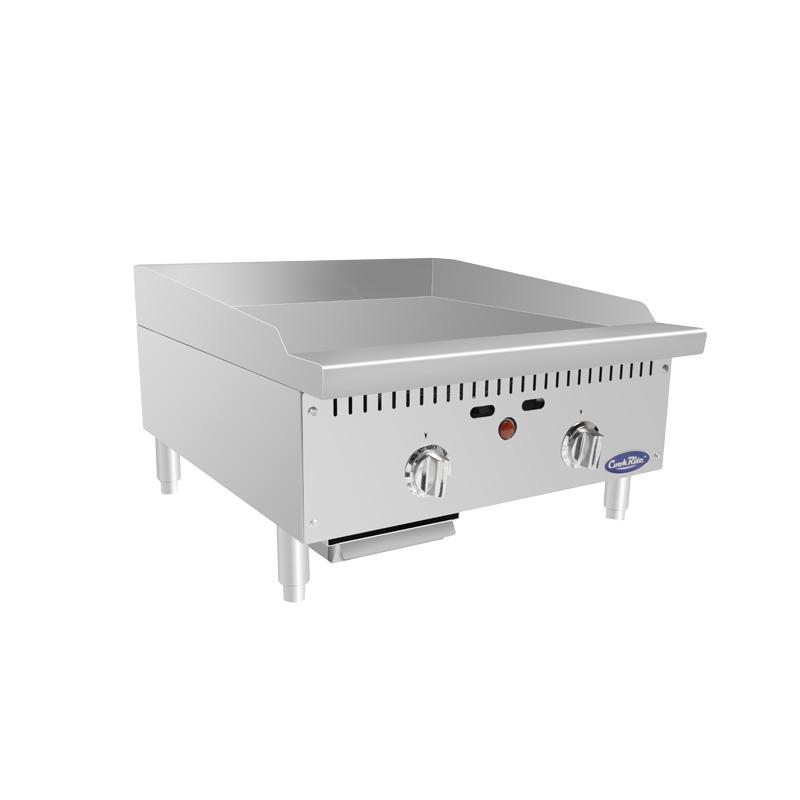 Atosa ATMG-24T– 24″ HD Thermostatic Griddle - Summit Restaurant Supply