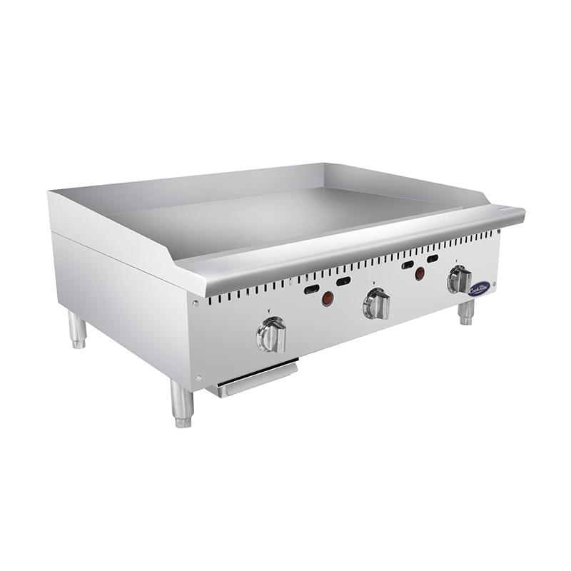 Atosa ATMG-36T– 36″ HD Thermostatic Griddle - Summit Restaurant Supply