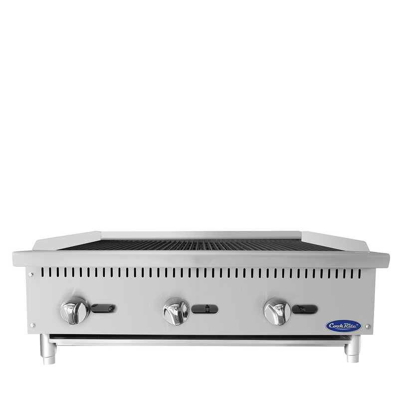 "Atosa ATRC-36 36"" Commercial Countertop Radiant Broiler"