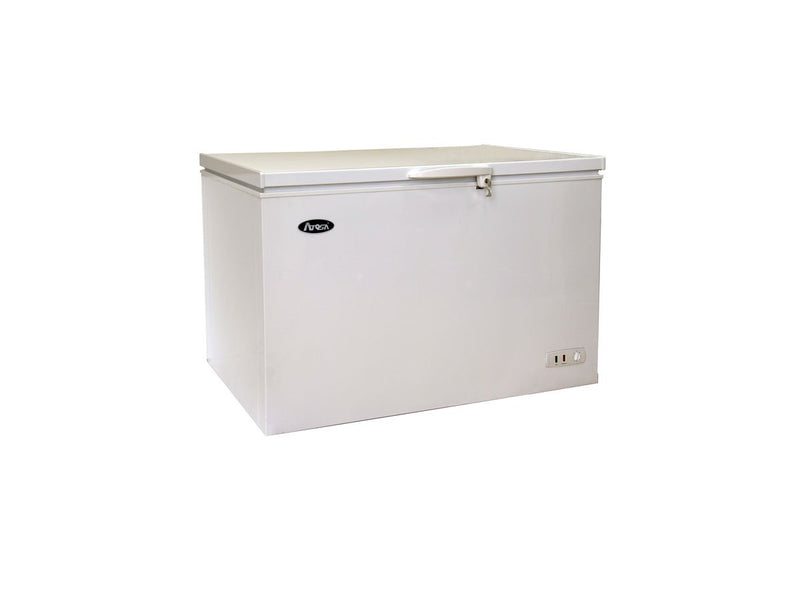 Atosa MWF9010 Solid Top Chest Commercial Freezer  10 Cu. Ft. - Summit Restaurant Supply