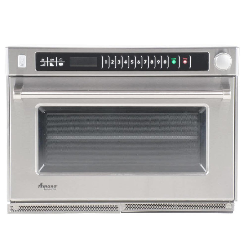 Amana AMSO22 2200w Commercial Steamer Microwave - Summit Restaurant Supply
