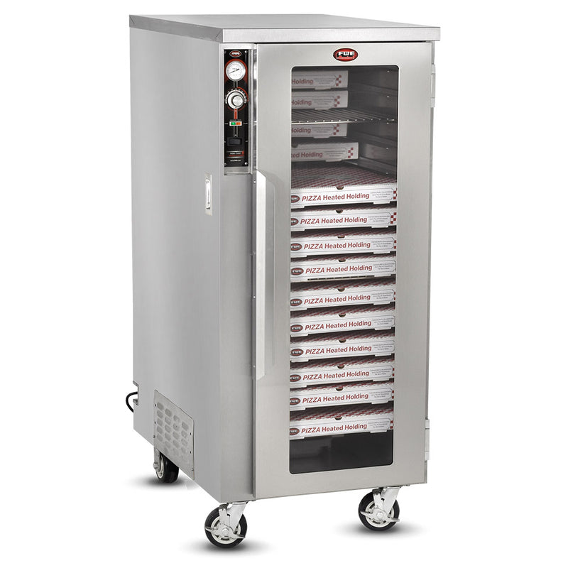 FWE Model TS-1633-30 Mobile Heated Pizza Cabinet with Humi-Temp